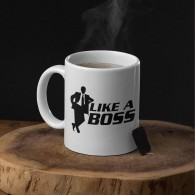 "Puodelis ""Like a boss"", 300ml"