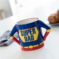 "Puodelis ""Super DAD"", 300ml"