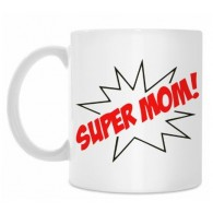 "Puodelis ""Super mom"", 300ml"